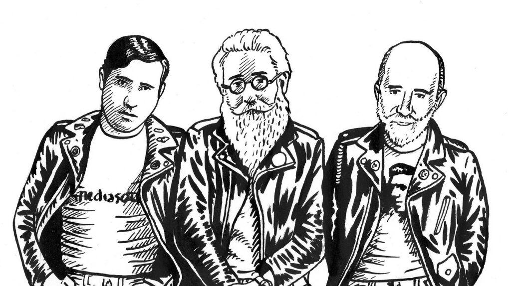 Pablo Gallo y su pandilla de escritores