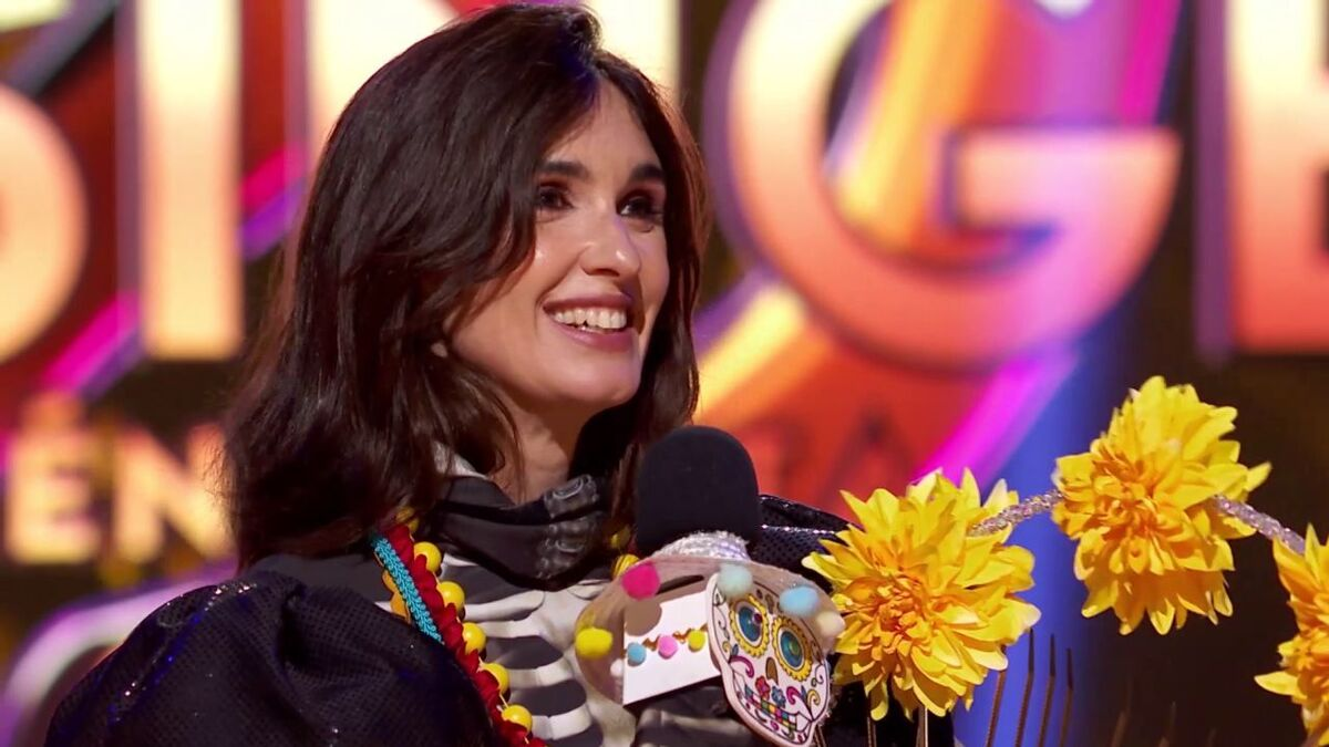 "Paz Vega, que era Catrina, gana 'Mask Singer': ""En casa he tenido un comportamiento extraño en el último mes"""