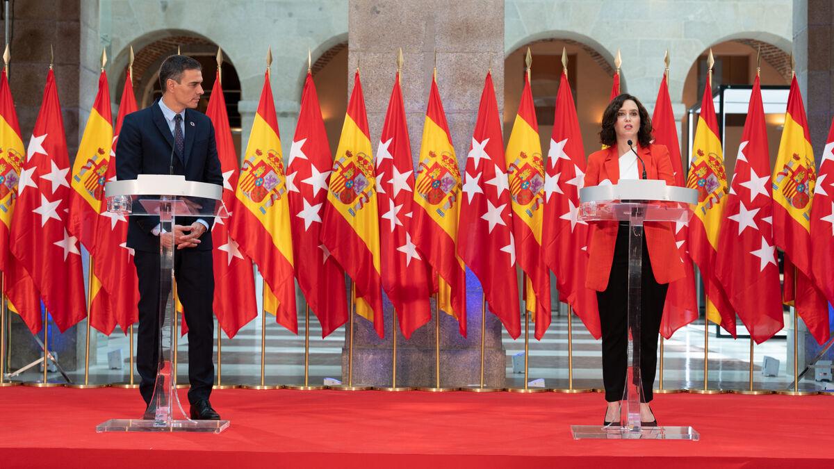 Pedro Sánchez e Isabel Díaz Ayuso dan el primer paso para cerrar Madrid -  Vozpópuli