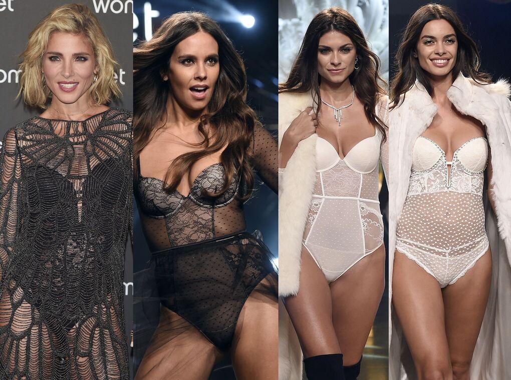 Pedroche, Pataky, la hija de Mariló Montero, la novia de Alonso y Alves, muy sexys en lencería