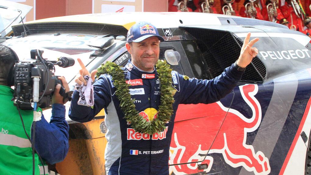 Peterhansel gana su Dakar 12+1, el séptimo en coches