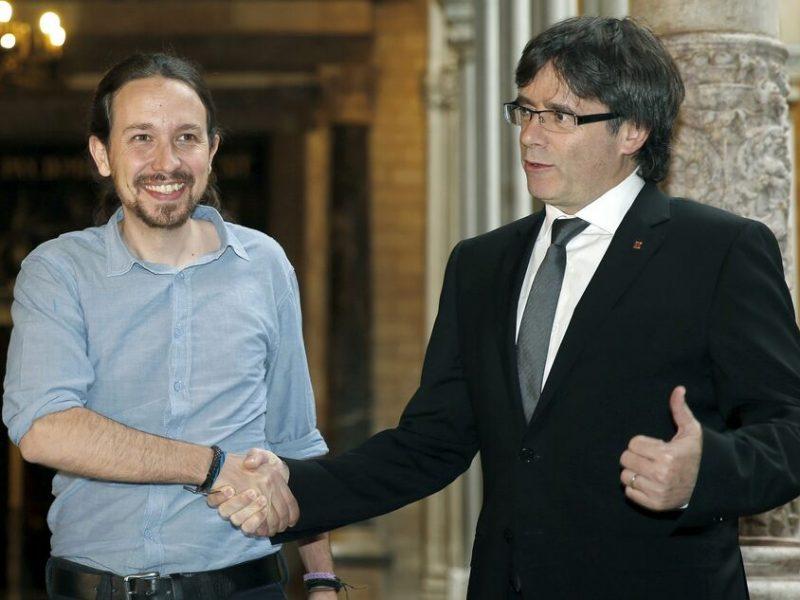 Iglesias vota contra España