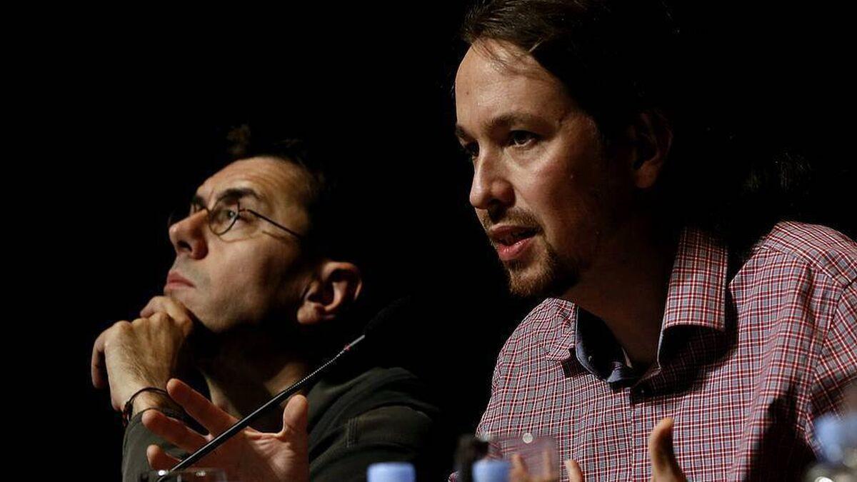 Una exalumna de Monedero cuenta qué le hicieron él y Pablo Iglesias en un bar