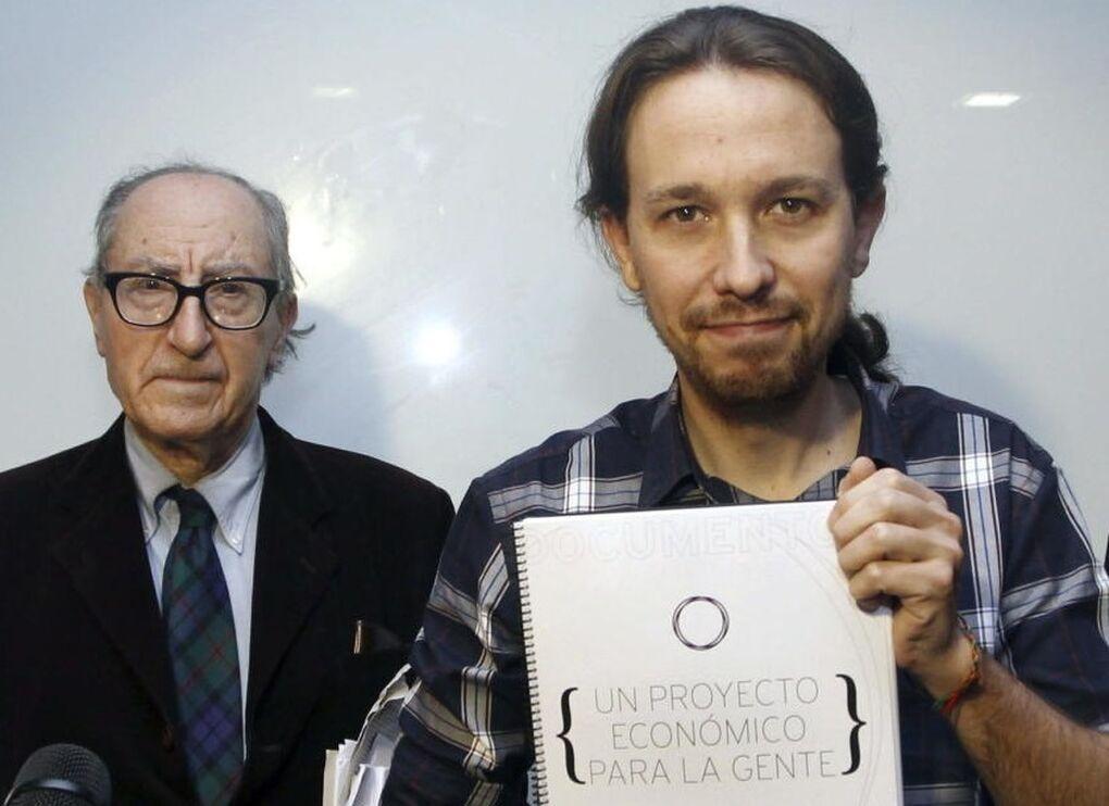 Podemos baraja a Vicenç Navarro como candidato para su moción de censura