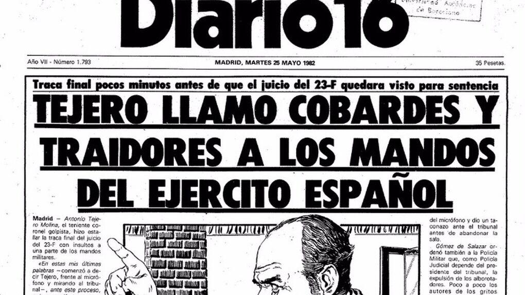 Renace 'Diario16': saldrá a la calle una vez al mes a partir de finales de enero