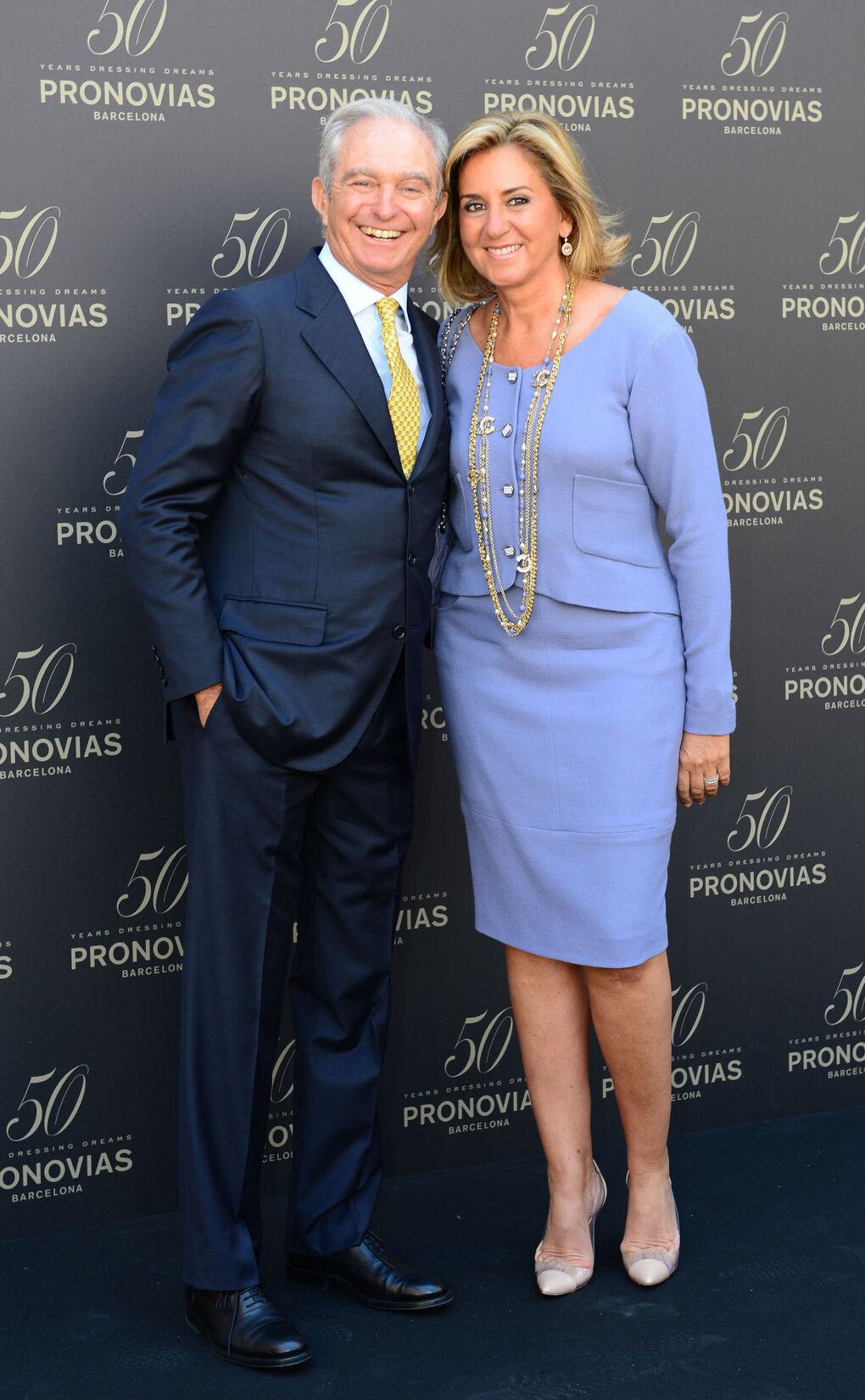 El imperio de Pronovias se tambalea: Alberto Palatchi y Susana Gallardo se separan