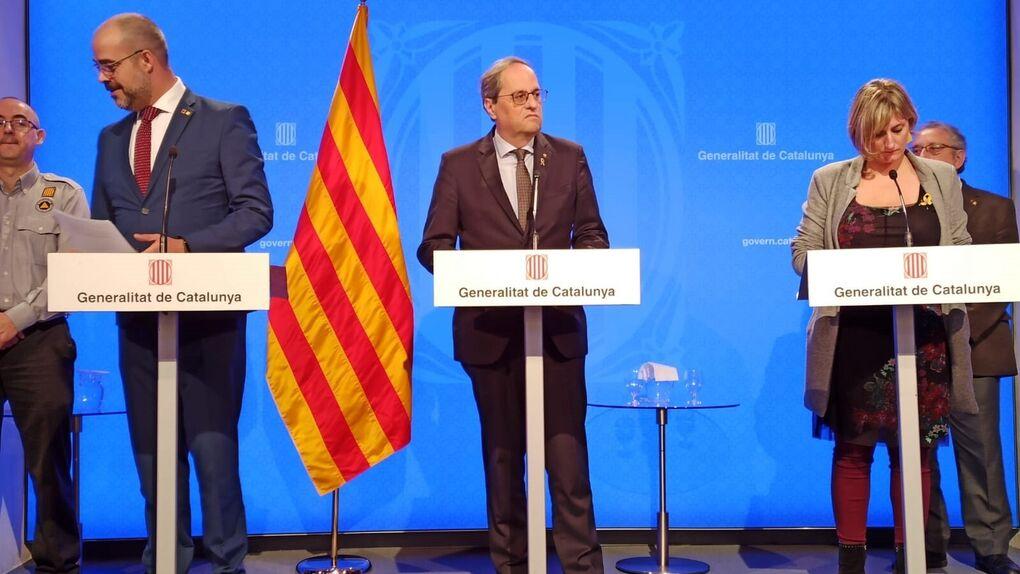 El Govern pide mantener Lleida en fase 1 y unir las regiones de Barcelona
