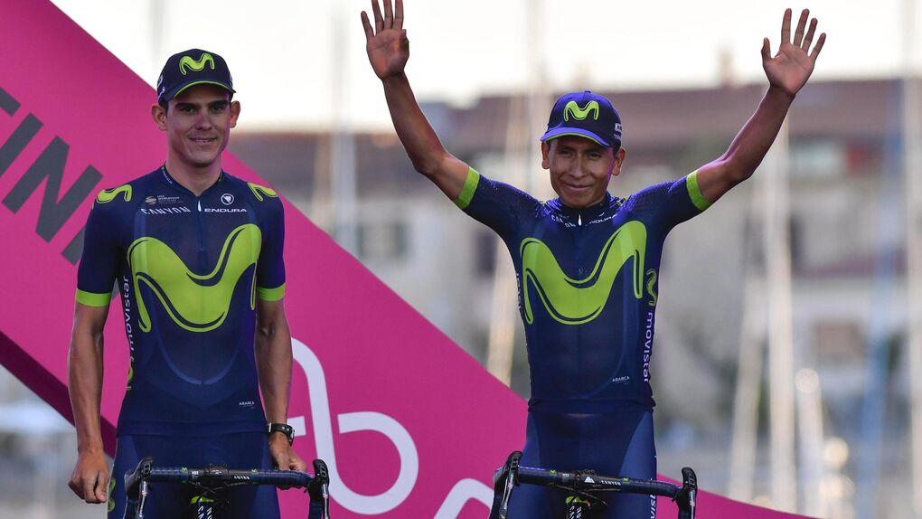 El duelo Quintana-Nibali anima un Giro del Centenario de luto por Scarponi