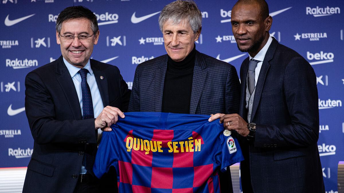 Quique Setién llevará al Barça a los tribunales por incumplimiento de contrato