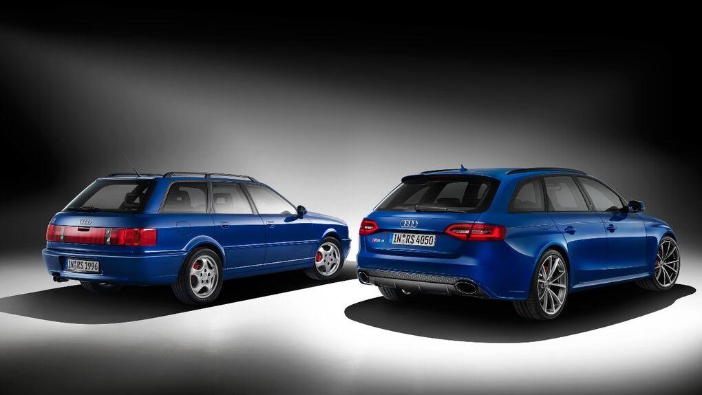 Del RS2 al RS4 Nogaro, 20 años de deportivos familiares de Audi