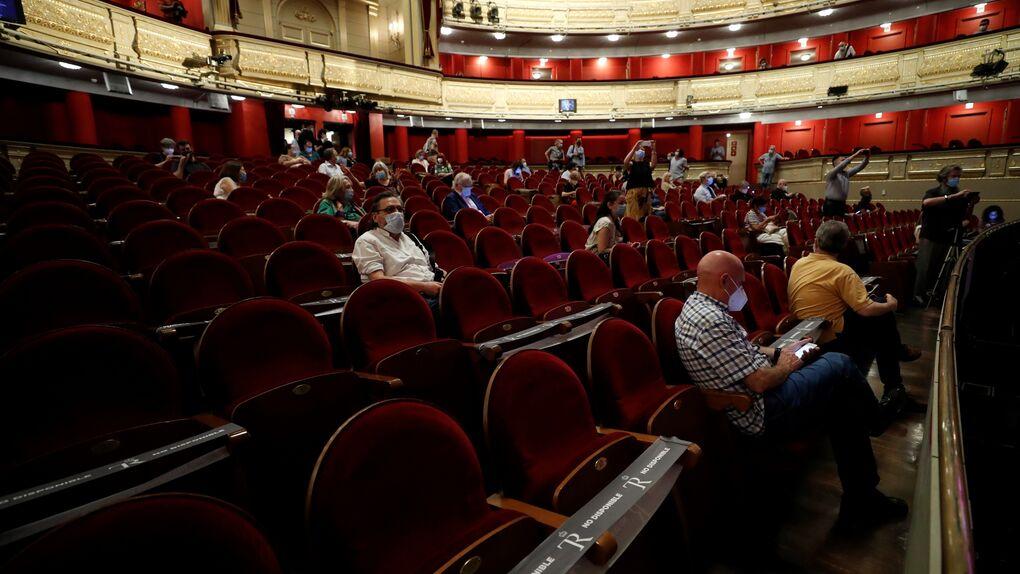 El Real estrena 'La Traviata' con rigurosas medidas de seguridad