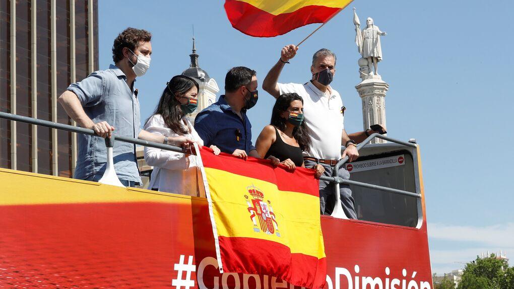 Espinosa de los Monteros compara la manifestación de Vox con la celebración del Mundial de fútbol