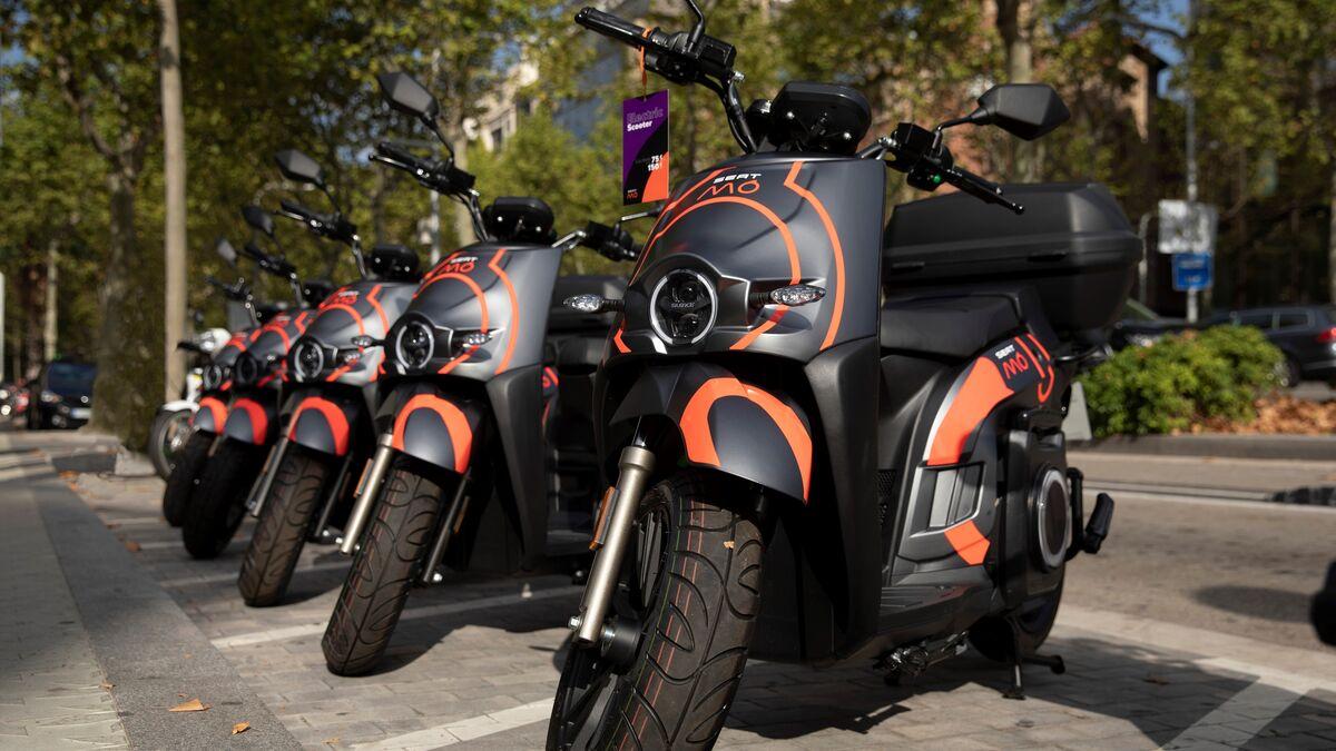 Seat impulsa su negocio de dos ruedas: 600 scooters  para motosharing en Barcelona