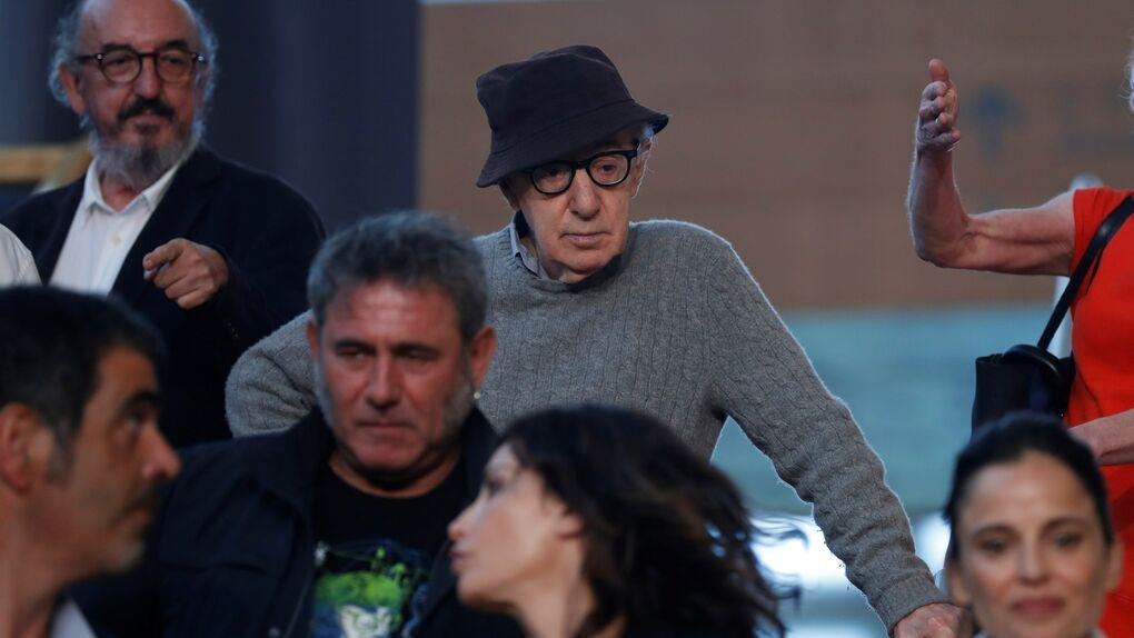 Woody Allen inicia en la Parte Vieja de San Sebastián el rodaje de su nueva película