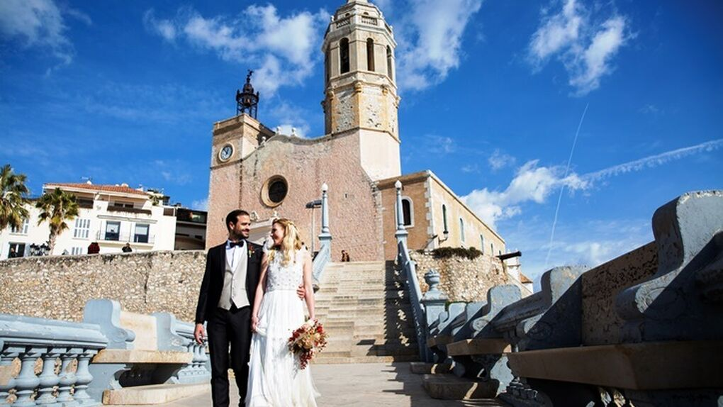 Sitges se alza como destino turístico internacional de bodas exclusivas