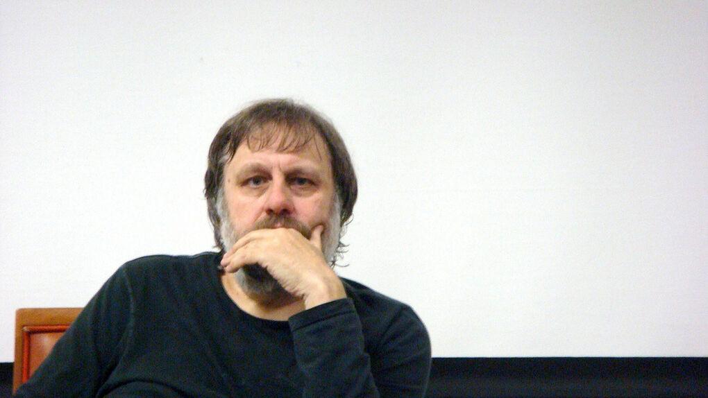 El filósofo esloveno Slavoj Zizek