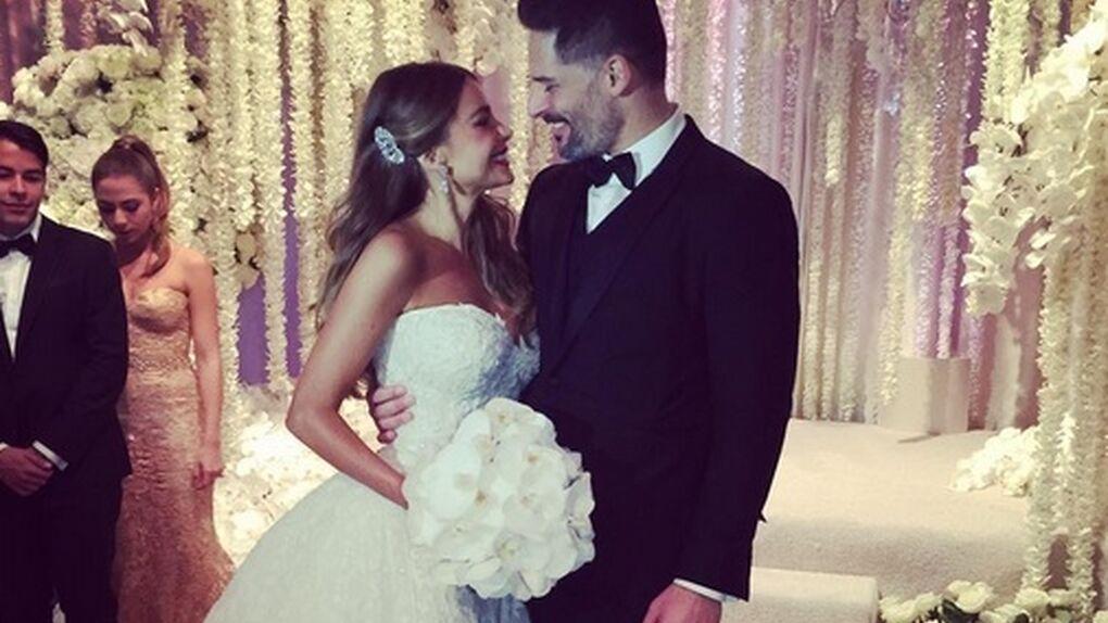 Los detalles de la boda blindada de Sofía Vergara y Joe Manganiello