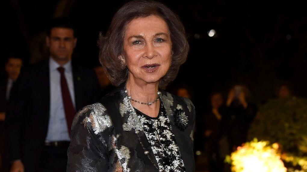La reina Sofía muestra su afecto a la familia de Kardam de Bulgaria