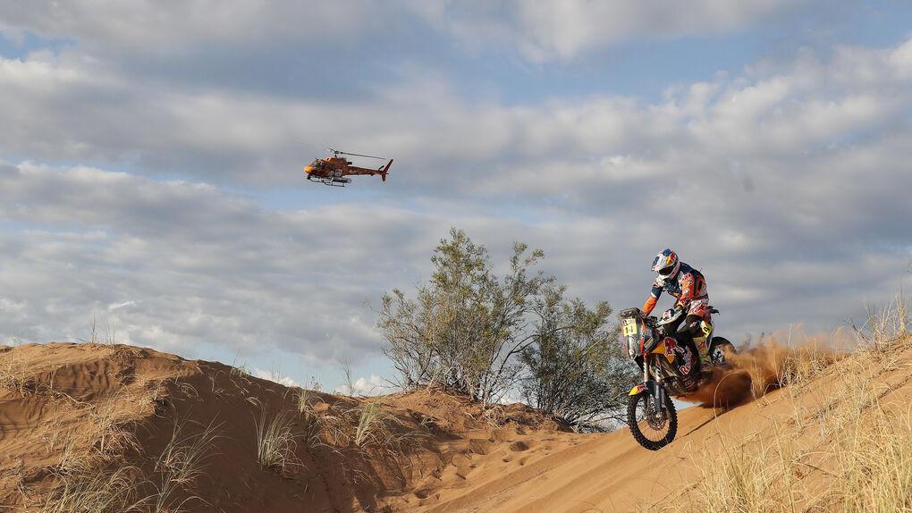 El británico Sam Sunderland gana el Dakar de 2017 en motos