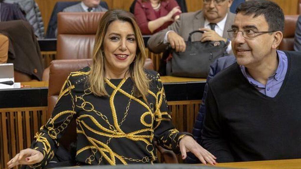 La puñalada de Susana Díaz a su equipo aísla a la líder del PSOE andaluz