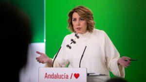 """Susana Díaz presume de un equipo sin cargos ni ministros pero de """"gente honesta"""""""