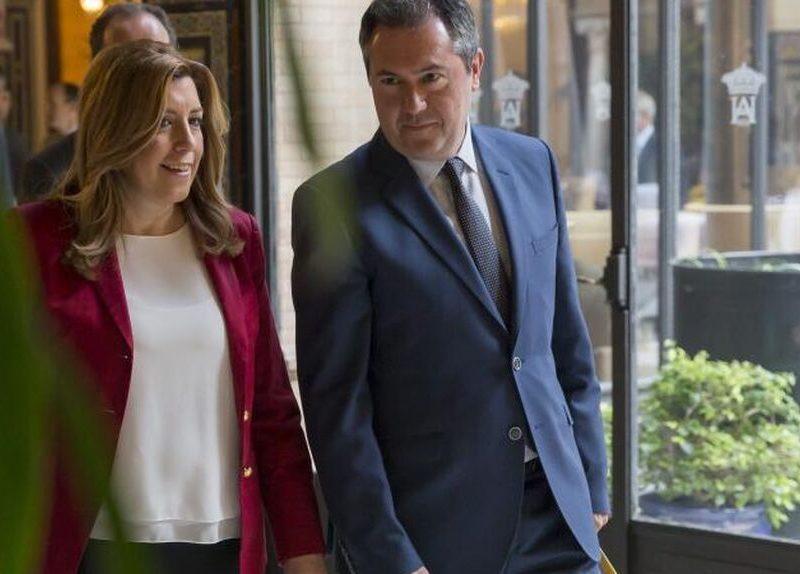 Sánchez se reunió en Ferraz con el alcalde de Sevilla, posible relevo de Susana Díaz en Andalucía
