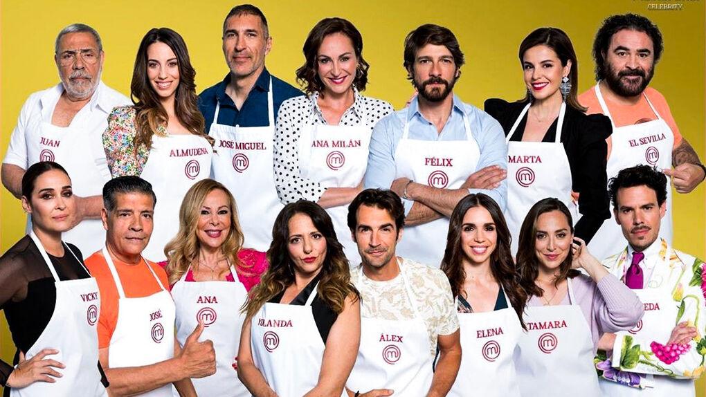 De Tamara Falcó a Ana Obregón: estos son los concursantes de Masterchef Celebrity 4
