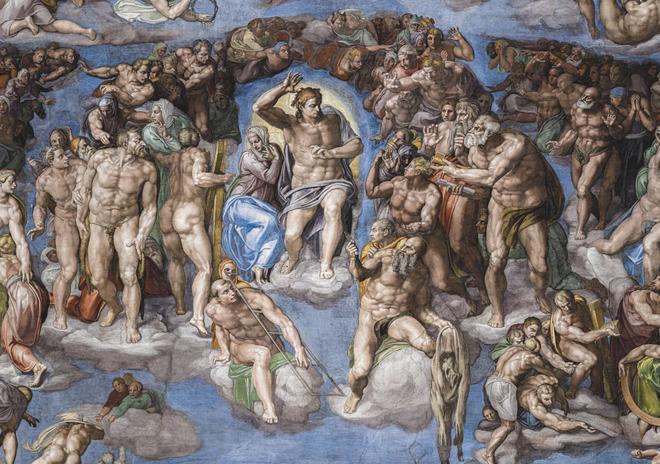 The Sistine Chapel, editado por Callaway, consta de 822 páginas distribuidas en tres volúmenes de 61 x 43 centímetros.