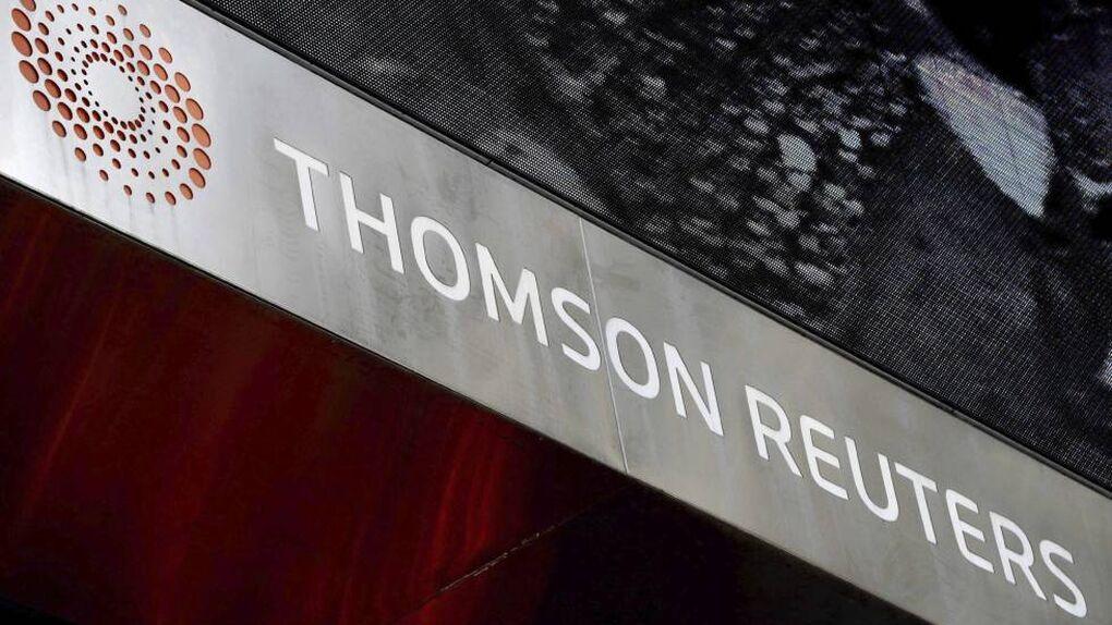Thomson Reuters recortará 3.200 empleos, el 12% de su plantilla, para 2020