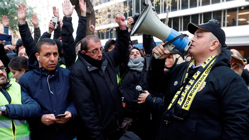 'Tito' Álvarez no piensa pagar a la Generalitat y oficializa las movilizaciones del taxi