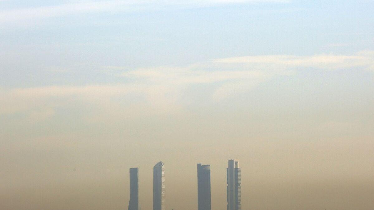 Continúa este martes la limitación a 70 km/h en la M-30 y los accesos a Madrid por la polución