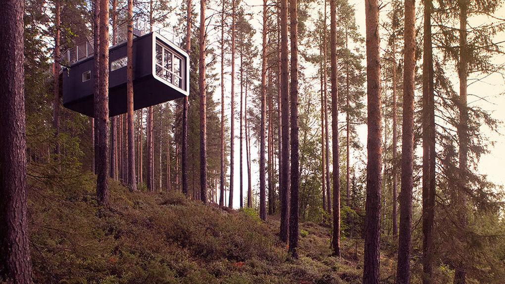 Para andarse por las ramas: seis hoteles de altura