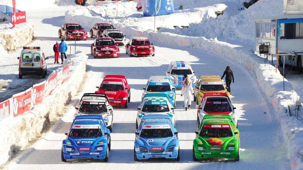 Trofeo Andros, 25 años de espectaculares carreras sobre hielo y nieve