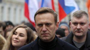 El opositor ruso, Alexéi Navalny, antes de su ingreso en prisión.