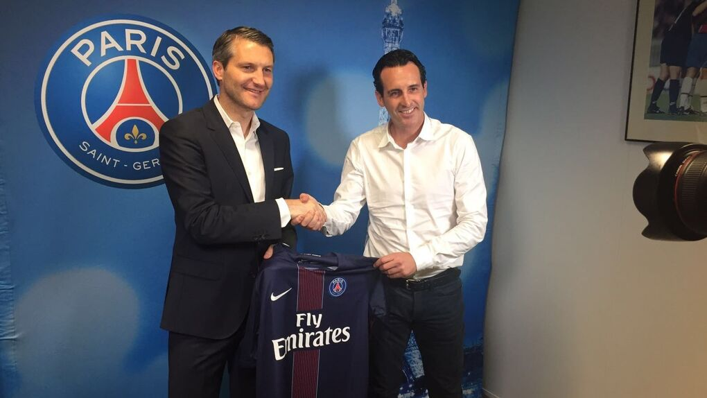 El PSG anuncia la contratación de Unai Emery como entrenador hasta 2018