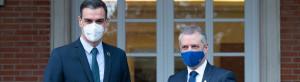 Sánchez niega a Urkullu sus demandas por la obligatoriedad de las mascarillas