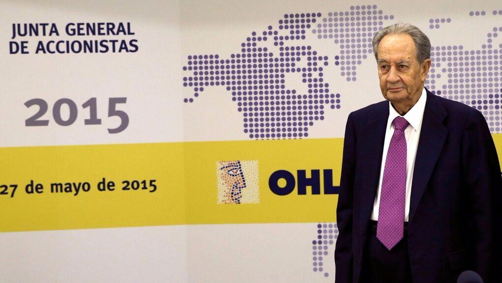 Villar Mir comienza a recuperar terreno en OHL: compra casi un 1% con el valor en mínimos