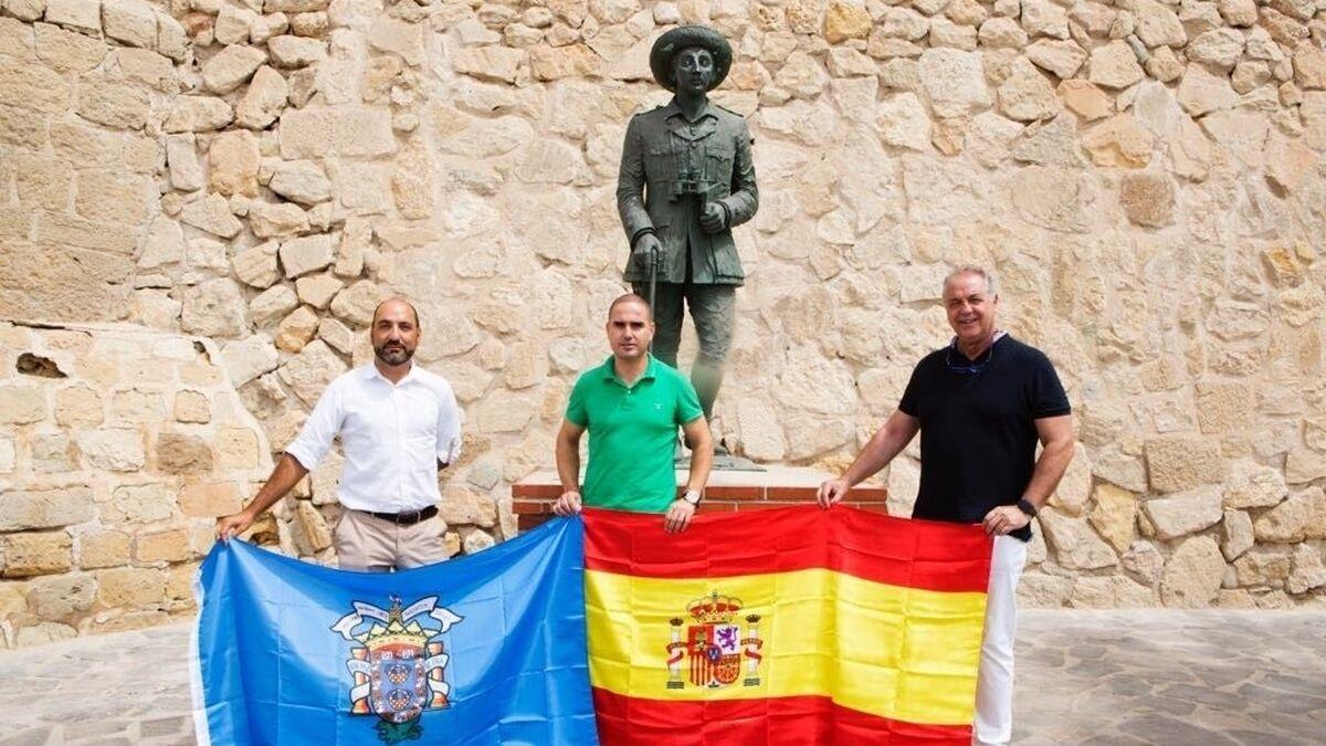 Vox se opone a la retirada de la estatua de Franco de Melilla, la última que queda en una vía pública española
