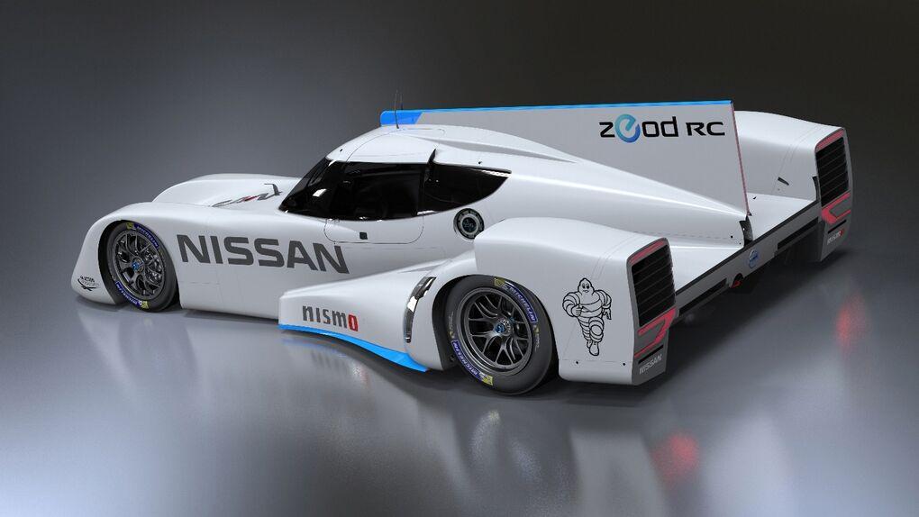 ZEOD, el deportivo eléctrico de Nissan para las 24 Horas de Le Mans