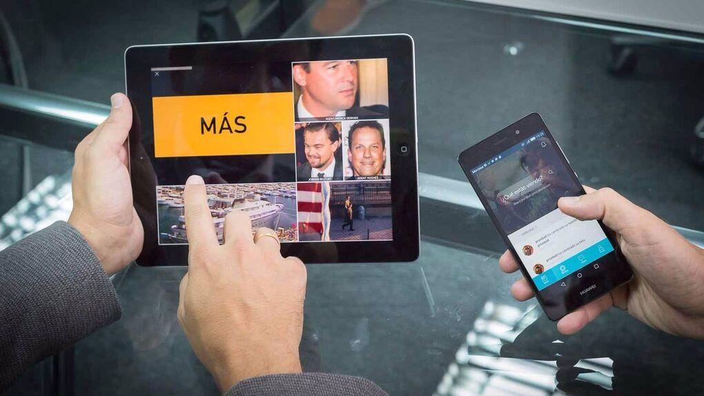 Touchvie, la nueva app interactiva de cine y de series de televisión