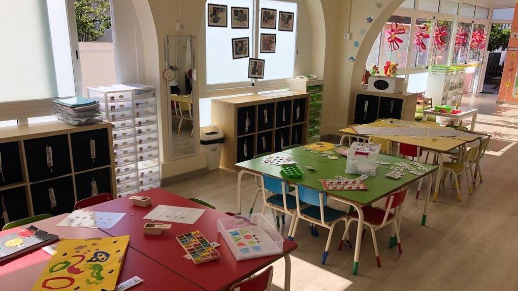 Un colegio de Castelldefels enseña a leer con la estelada