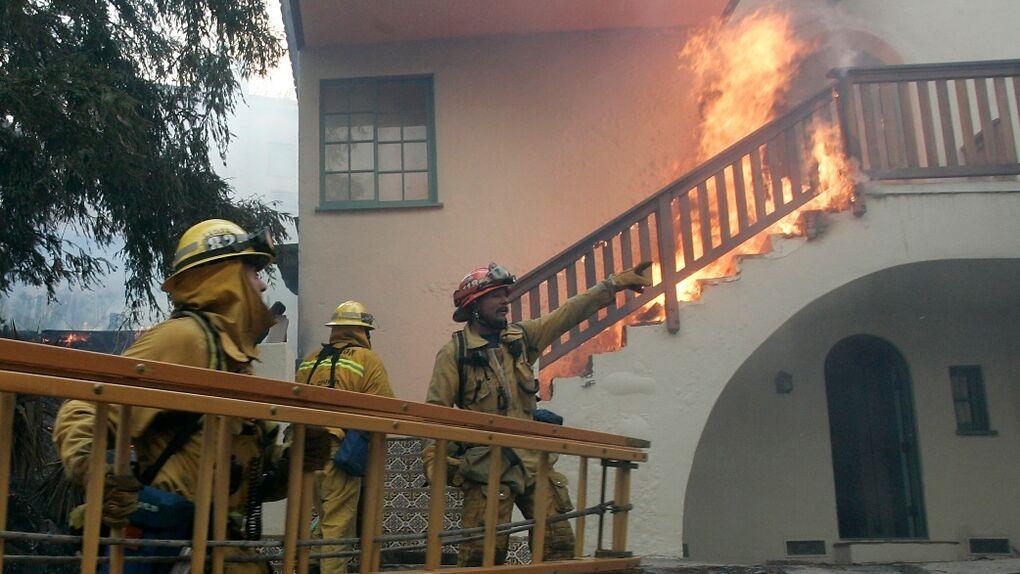 Los ricos también arden: mansiones de celebrities arruinadas por las llamas