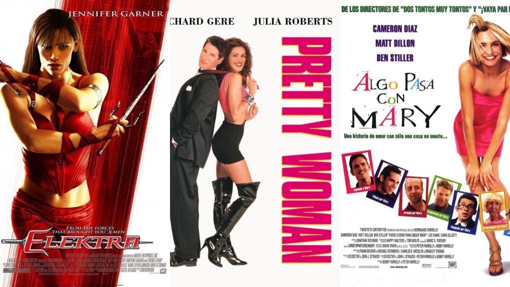 La demostración de que los carteles de películas del mismo género son siempre iguales