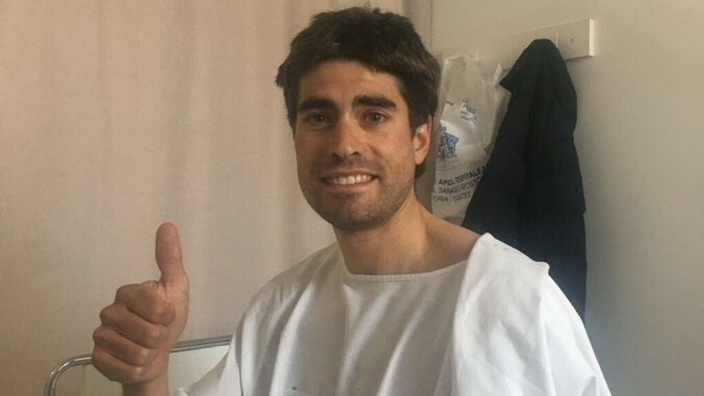 El conductor que atropelló a Mikel Landa y huyó da positivo en el test de drogas