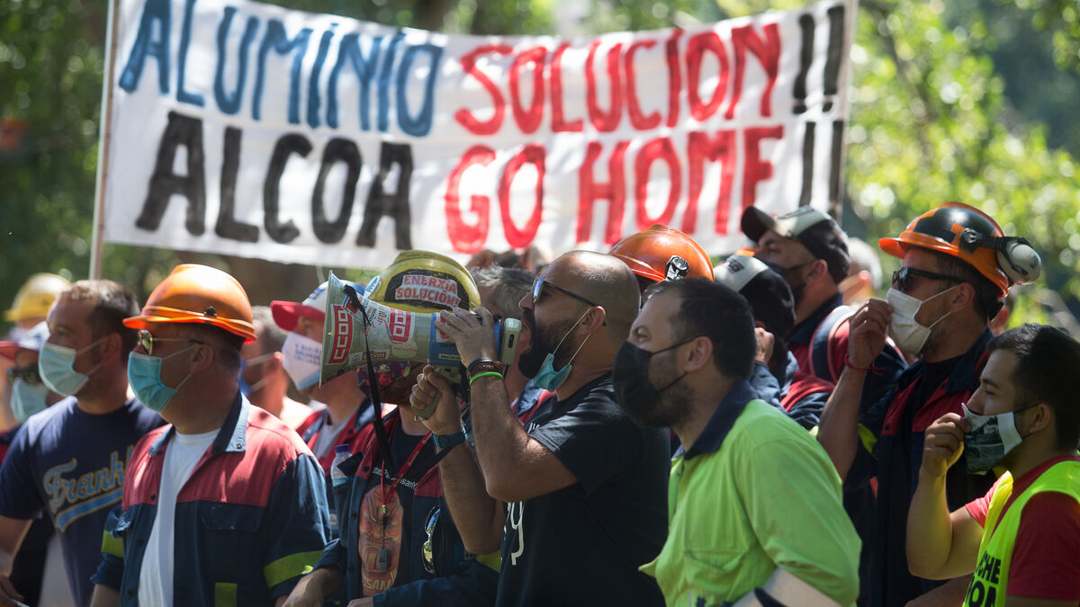 Alcoa y el comité de empresa acuerdan iniciar negociaciones para la venta a SEPI
