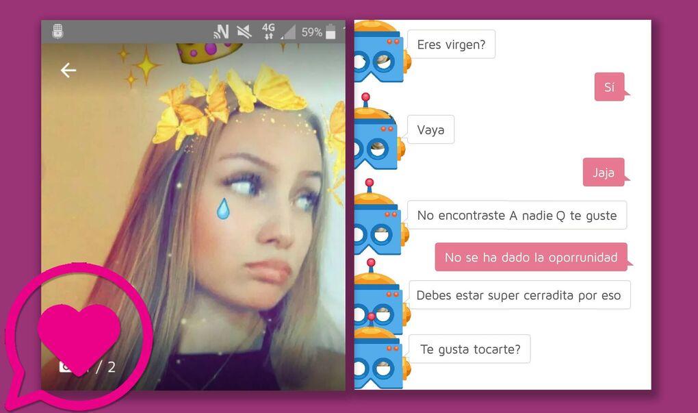 Esto es lo que pasa cuando creas un perfil de una chica de 16 años en una aplicación de contactos