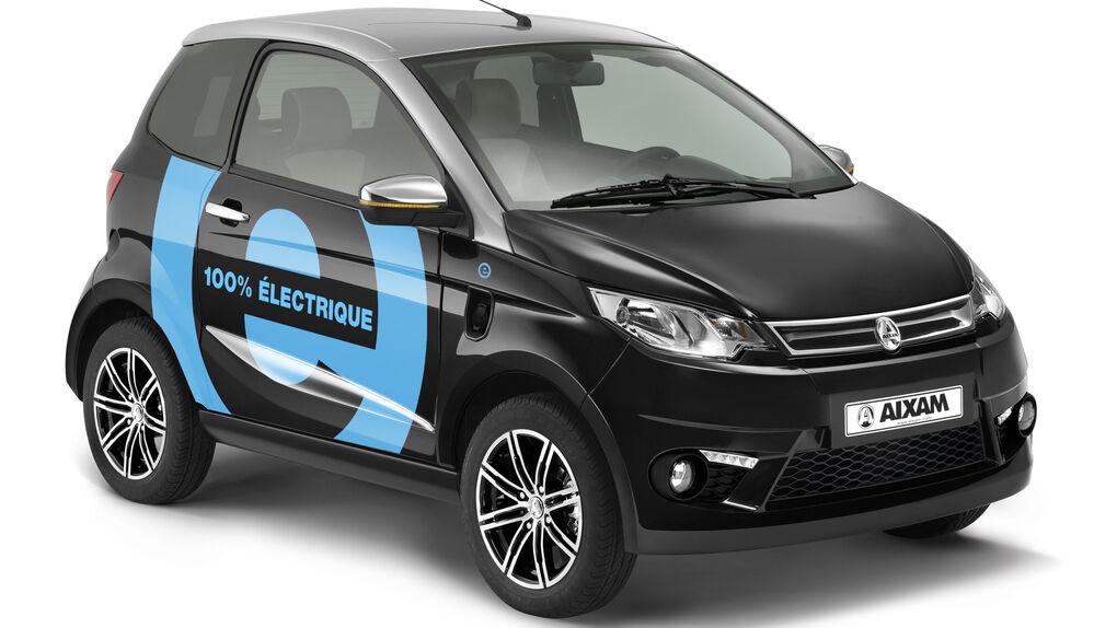 De microcoches a movilidad eléctrica: Aixam se reinventa con los nuevos eCity y eCoupe