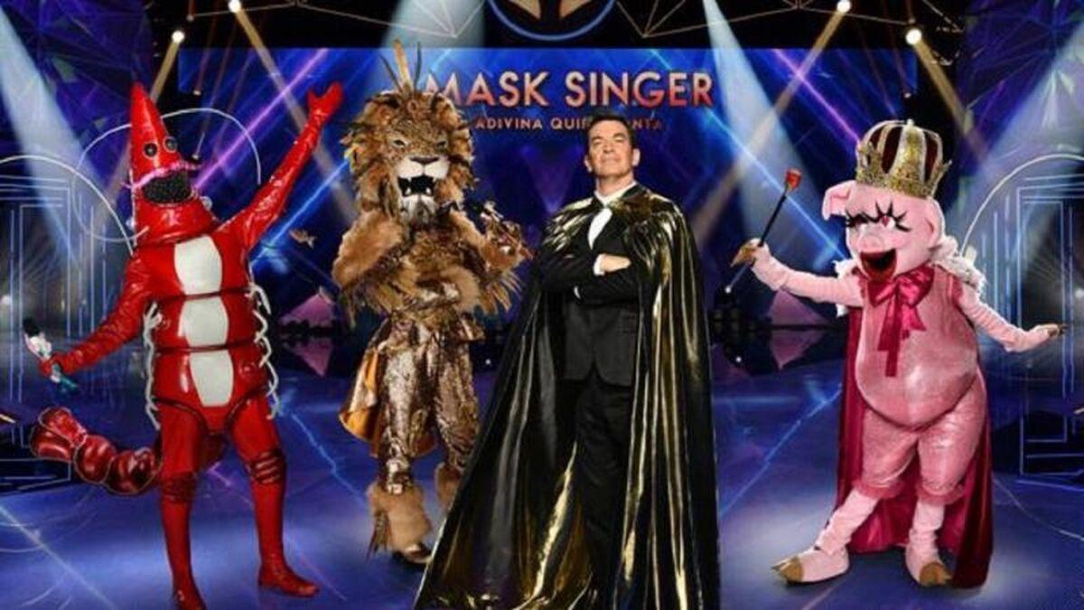 Se filtra por error la identidad de varios concursantes de 'Mask Singer'