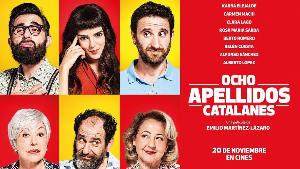 Se repite el fenómeno: 'Ocho apellidos catalanes', la película más taquillera del 2015 en España