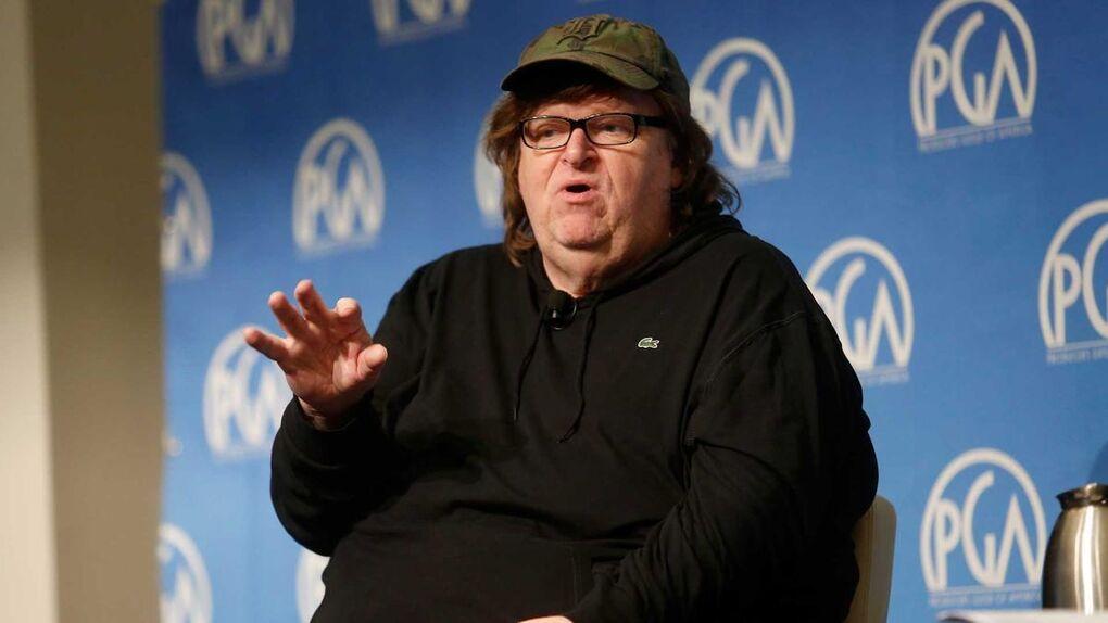 """El vaticinio de Michael Moore sobre Trump: """"Será el mayor 'fuck you' de la Historia"""""""